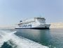 Picture of Hospital ship, Global Mercy in the Suez Canal. (mercyships.org)